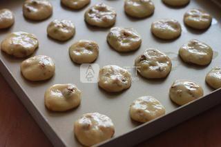 全麦橄榄油核桃饼干的做法步骤:6