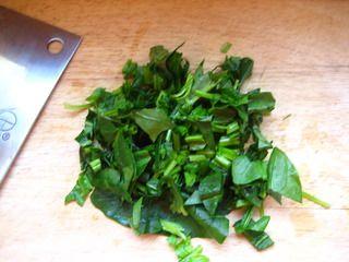 豆浆翡翠面的做法步骤:5