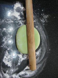 豆浆翡翠面的做法步骤:9