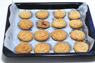 核桃奶酥饼干的做法步骤:9
