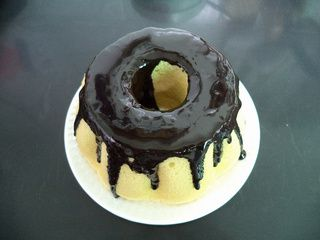 果仁巧克力蛋糕的做法步骤:21