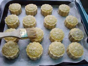 五仁月饼的做法步骤:12