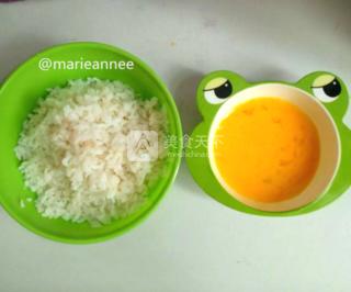 儿童蛋炒饭的做法步骤:3