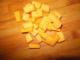 玉米南瓜羹的做法步骤:2