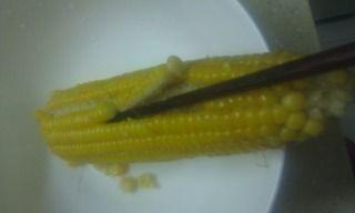 玉米南瓜羹的做法步骤:3
