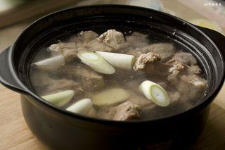 玉米山药龙骨汤的做法步骤:6