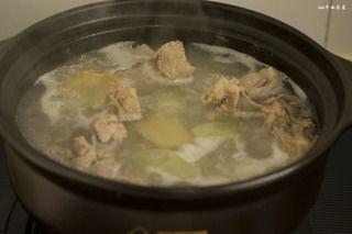 玉米山药龙骨汤的做法步骤:7