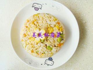 看不见蛋的蛋炒饭的做法步骤:9