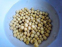 玫瑰花豆浆的做法步骤:2
