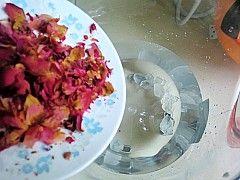 玫瑰花豆浆的做法步骤:4