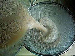 玫瑰花豆浆的做法步骤:7