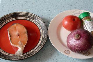 锡纸包烤三文鱼的做法