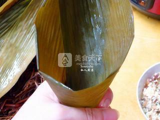 广式腊味粽子的做法步骤:7