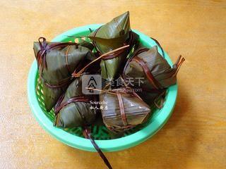 广式腊味粽子的做法步骤:10