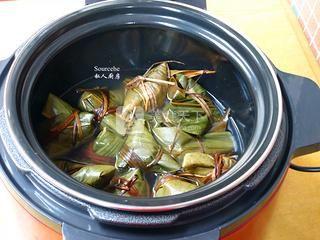 广式腊味粽子的做法步骤:11