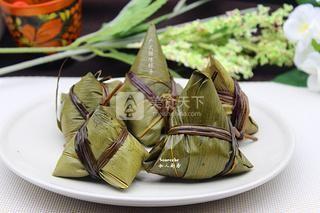 广式腊味粽子的做法步骤:12