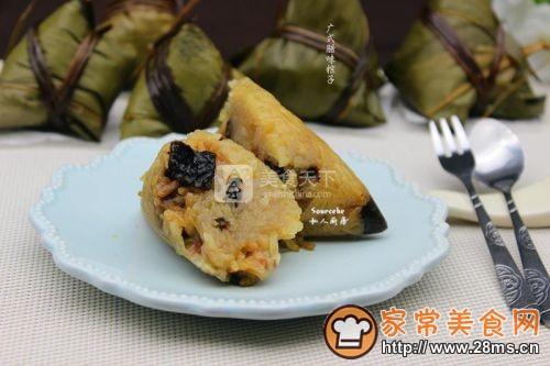 广式腊味粽子的做法