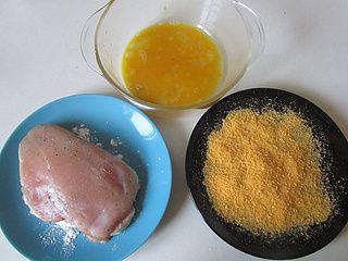 爆浆鸡排的做法步骤:8