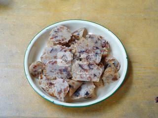 香煎粽子的做法步骤:2
