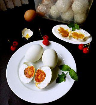 腌油黄咸鸭蛋的做法步骤:11