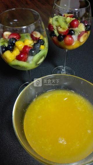 超级简单水果布丁的做法步骤:5