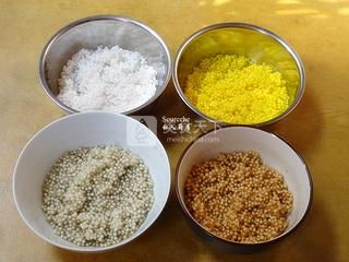 干果水晶粽子的做法步骤:4