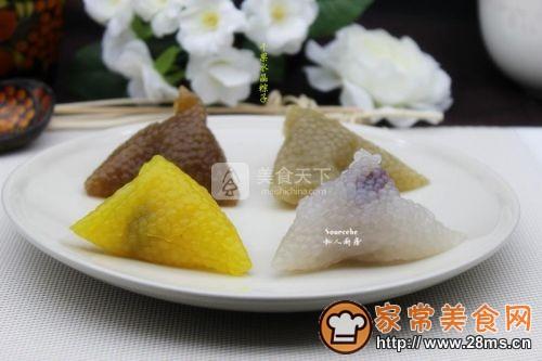 干果水晶粽子的做法