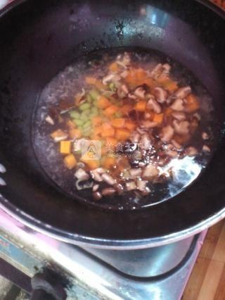 什锦蛋炒饭的做法步骤:3