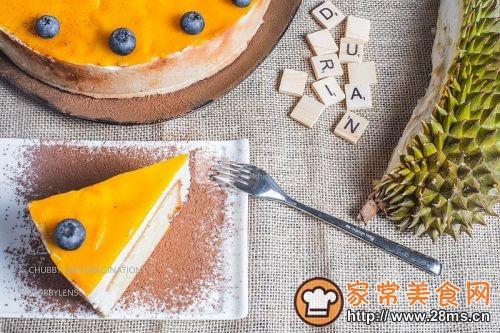 泰国榴莲慕斯蛋糕的做法