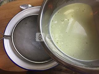 抹茶烤布丁的做法步骤:7