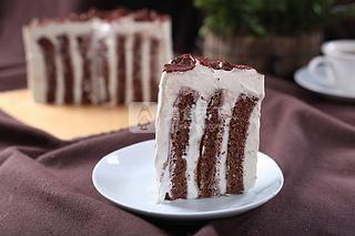 可可漩涡蛋糕的做法步骤:15