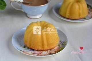 海绵南瓜蛋糕的做法步骤:16