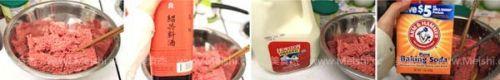 茄汁红烧丸子
