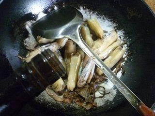 笋干菜蛏子汤的做法步骤:5