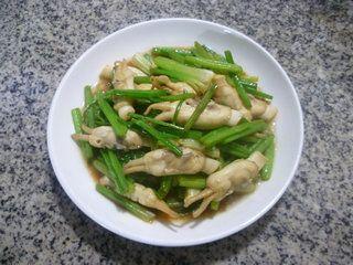 芹菜炒蛏子的做法步骤:13