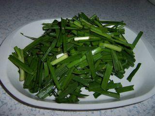 蛏肉炒韭菜的做法步骤:6