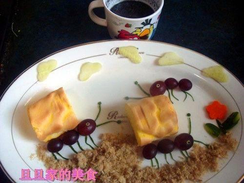 创意儿童早餐勤劳的小蚂蚁的做法