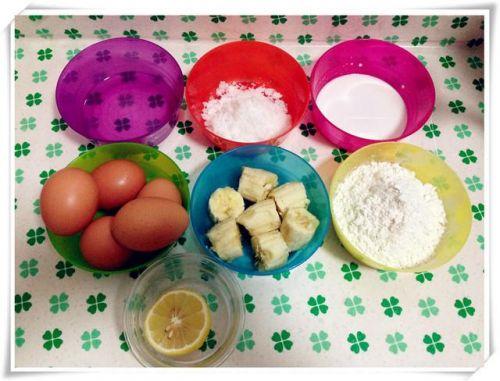 孩子都爱吃甜食!教你一招,用香蕉做蛋糕,可以少糖少油更健康!