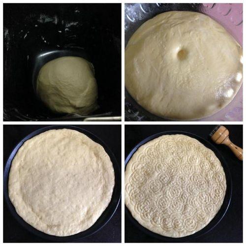 家庭自制田园火腿披萨!料足、味好、超实惠、超大个!必须点赞!