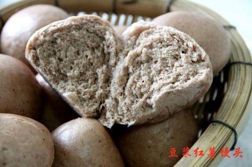 早餐豆浆剩一碗,千万别倒掉,蒸个粗粮馒头营养健康好吃不浪费!