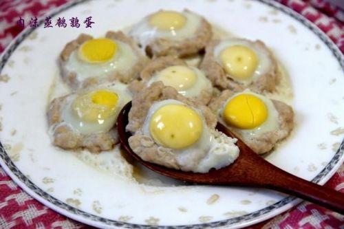 宝宝不爱吃肉怎么办?来份营养丰富的肉沫蒸鹌鹑蛋试试吧!