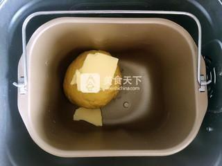 小老虎南瓜土司的做法步骤:4