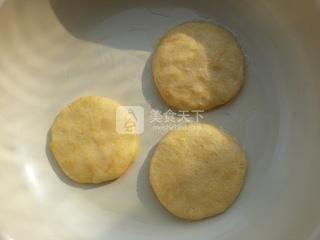 南瓜糯米饼的做法步骤:5
