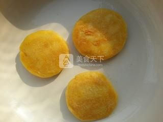 南瓜糯米饼的做法步骤:6