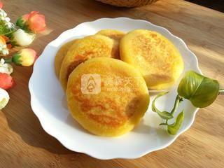 南瓜糯米饼的做法步骤:7