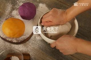 三色芋圆――九阳知食的做法步骤:3