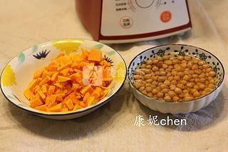 南瓜豆浆馒头的做法步骤:1