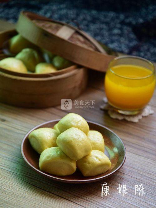 南瓜豆浆馒头的做法
