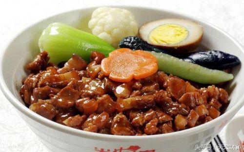 美味的台湾卤肉饭