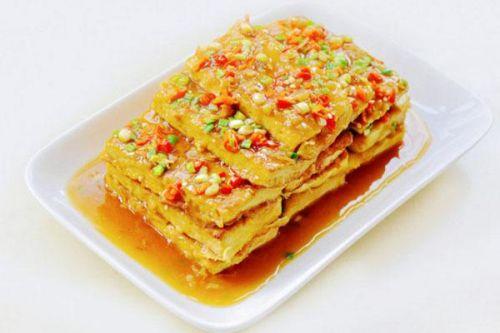 外酥里嫩山东名菜―锅塌豆腐